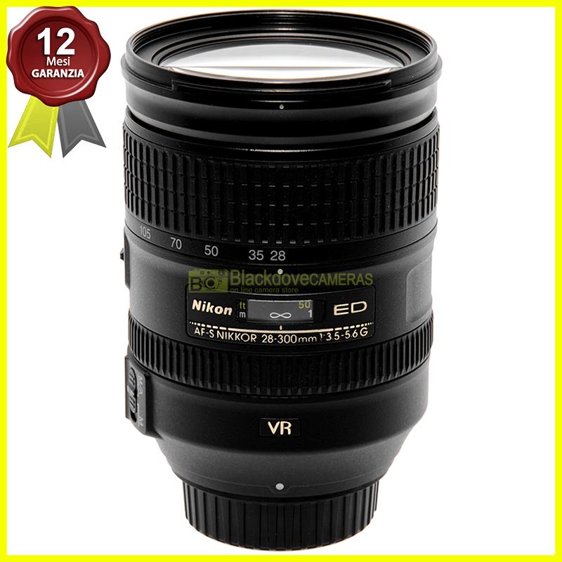 Nikon AF-S Nikkor 28/300 mm f3,5-5,6 G ED VR full frame per fotocamere