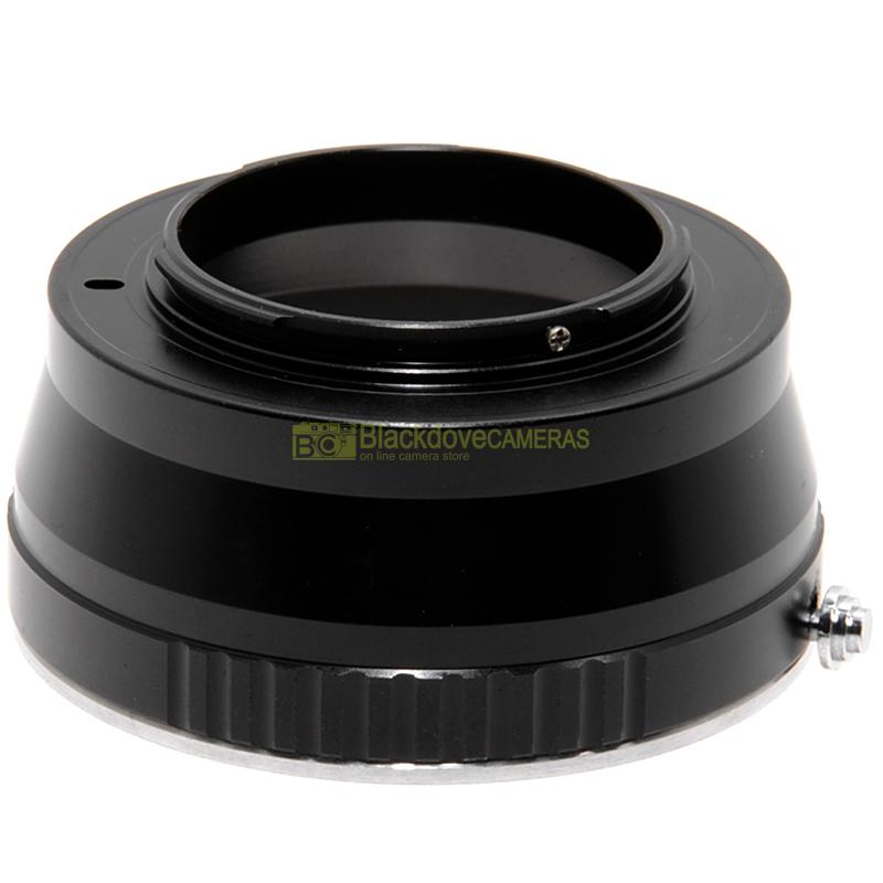 Adattatore per obiettivi Leica R su fotocamere Micro 4/3. Anello adapter MFT