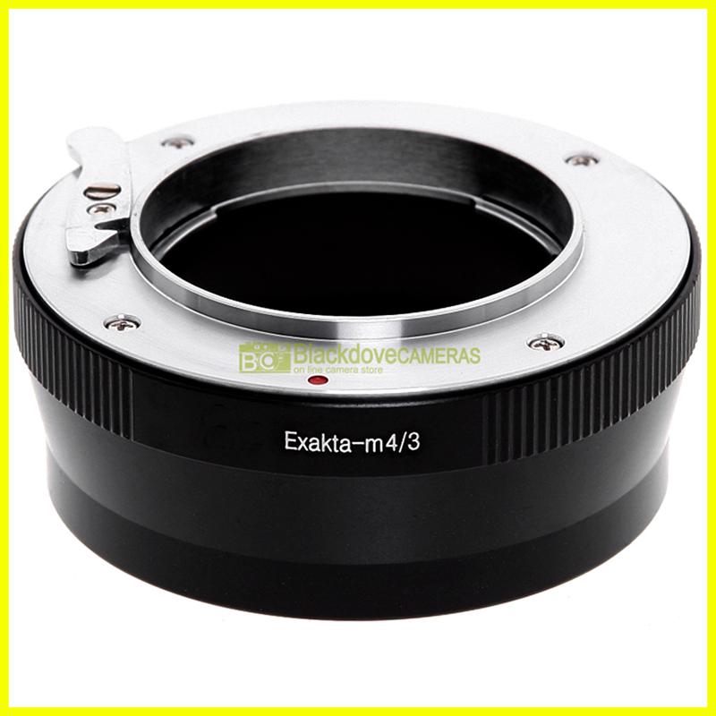 Adattatore per obiettivi Exakta Exa su fotocamere Micro 4/3. Anello adapter