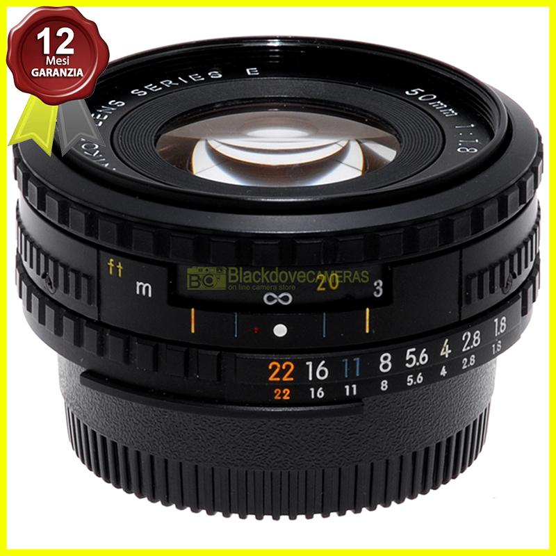 Obiettivo Nikon AI-S 50mm. f1,8 E Nero per fotocamere a pellicola e digitali