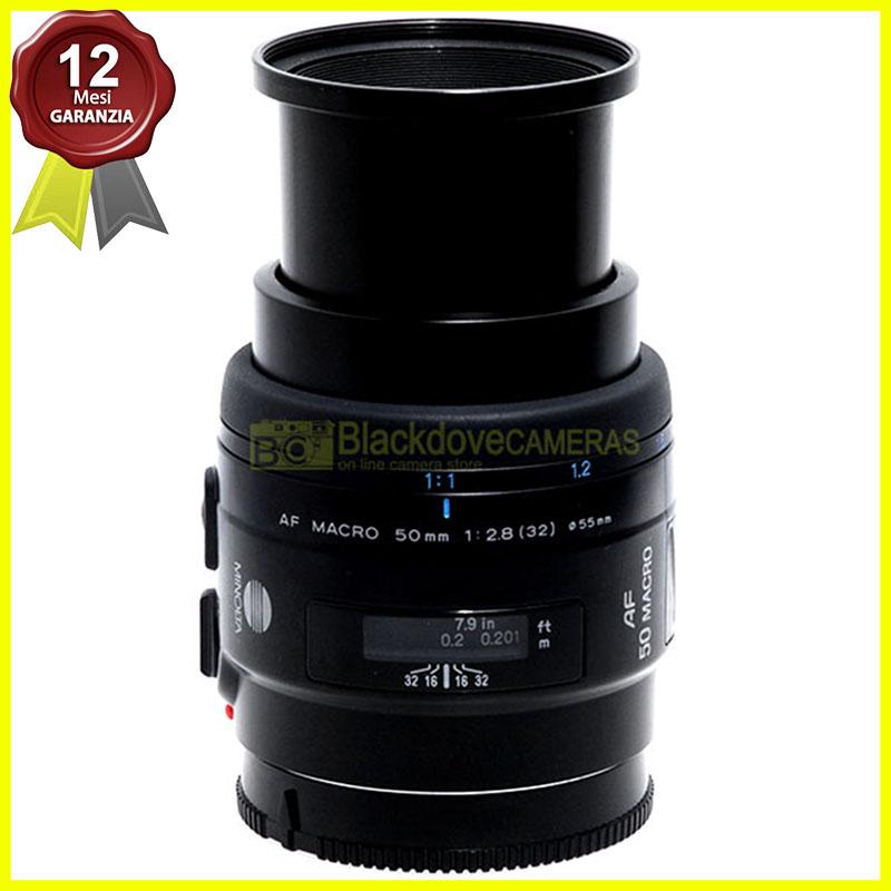 Minolta AF 50mm f2,8 Macro 1:1 New