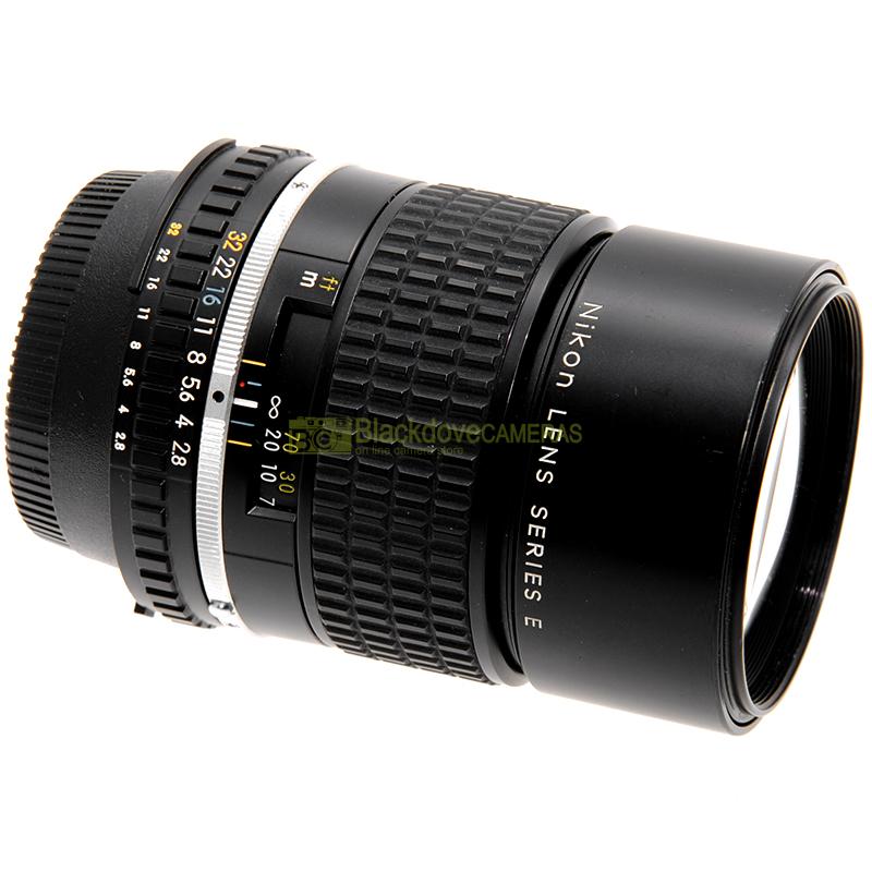 Obiettivo Nikon AI-S 135mm. f2,8 E Nero per fotocamere a pellicola e digitali