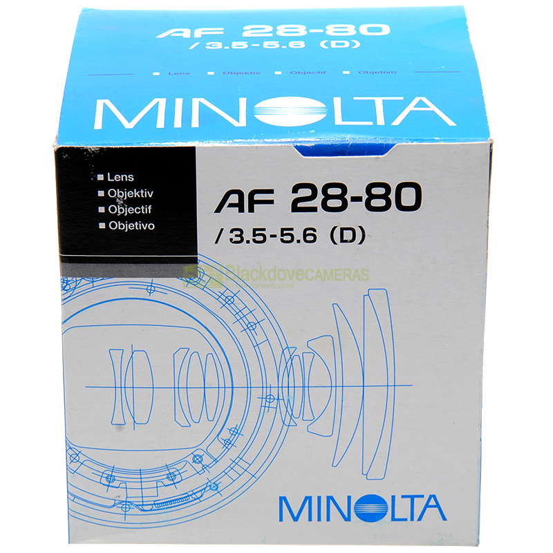 Minolta AF 28/80mm f3,5-5,6 D