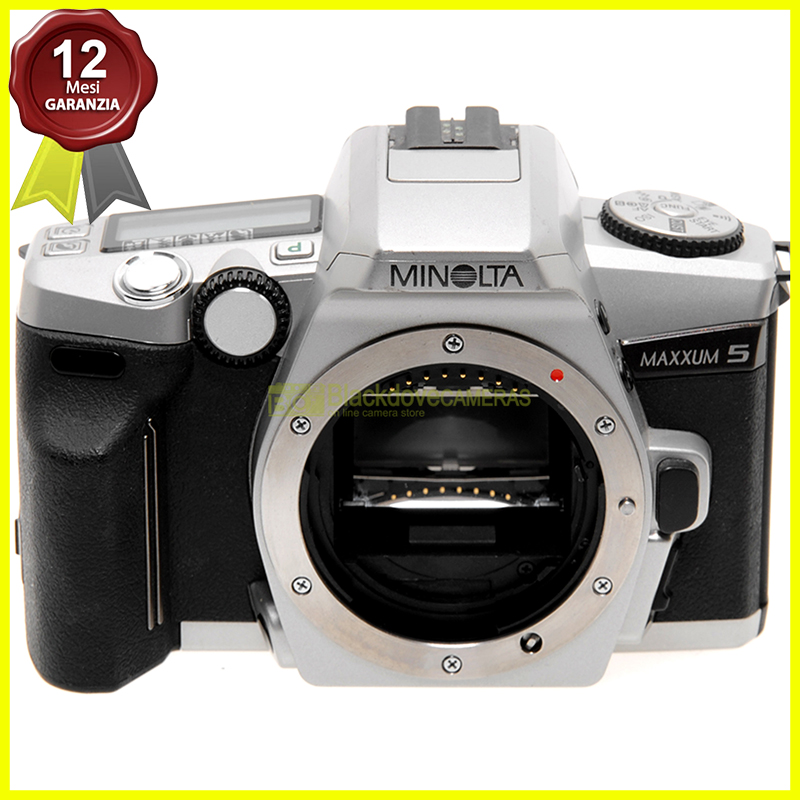 Minolta Maxxum 5 Silver