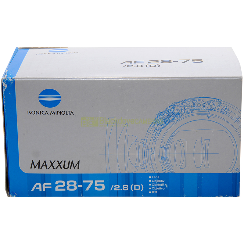 Minolta 28/75mm f2,8 D