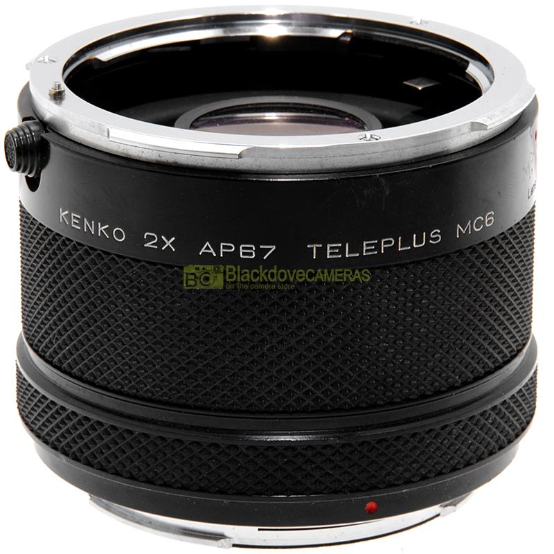Moltiplicatore 2x Kenko Teleplus AP67 MC6 per fotocamere Pentax 67 Pro 6x7