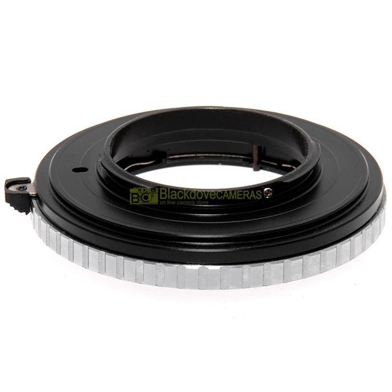 Adattatore per obiettivi Contax G (G1-G2) su fotocamere Micro 4/3. Adapter MFT.