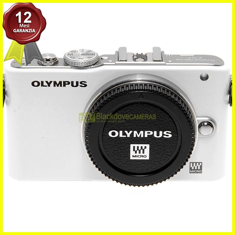Olympus Pen Lite E-PL3 body White