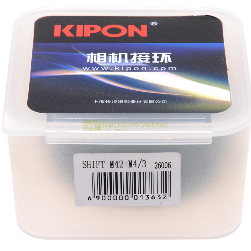 Adattatore SHIFT Kipon per obiettivi a vite M42 su corpi Micro 4/3.