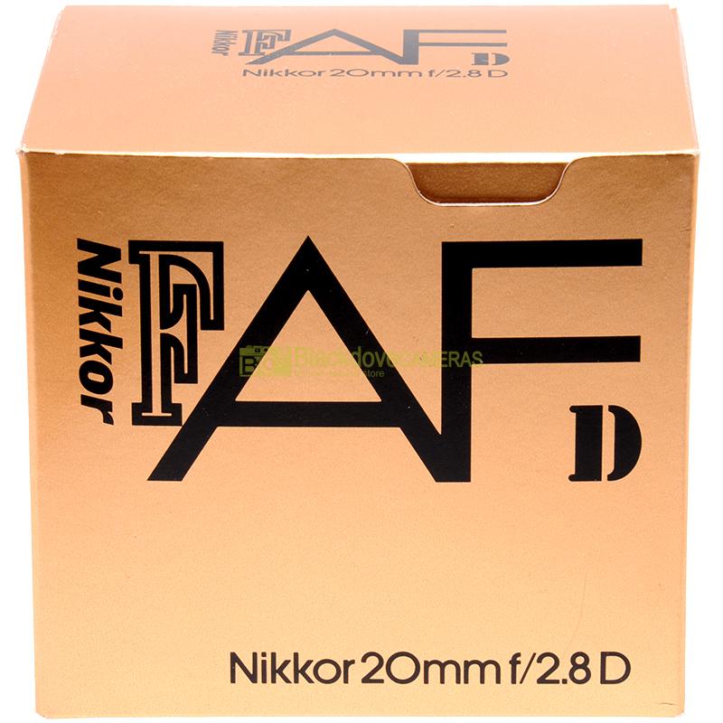 Nikon AF-D Nikkor 20 mm. f2,8