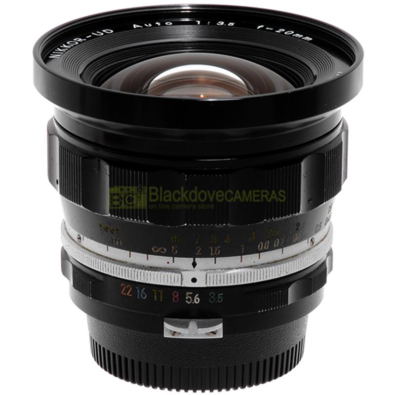 Obiettivo Nikon Auto Nikkor UD 20mm f3,5