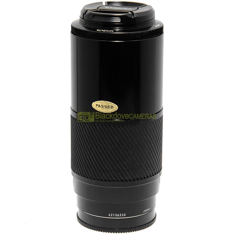 Obiettivo Minolta AF 70-210mm. f4 full frame A-Mount per fotocamere Sony Alpha