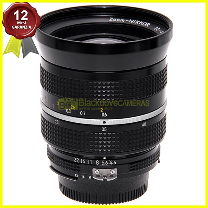 Nikon AI Nikkor 28/45mm. f4,5 obiettivo per fotocamere digitali e a pellicola