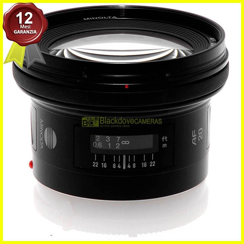 Minolta AF 20mm f2,8