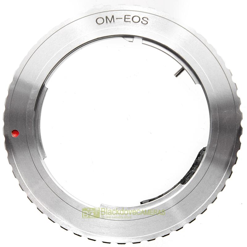 Adapter per obiettivi Olympus OM su fotocamere Canon EOS EF e EF-S Anello Adattatore