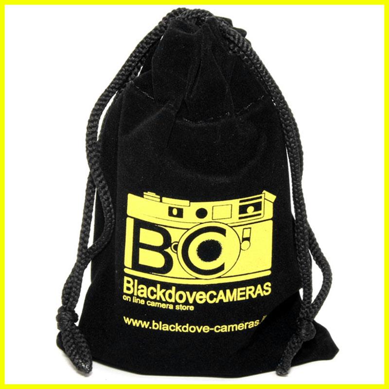 Custodia morbida in velluto Blackdove-Cameras per protezione obiettivi cm 12x18