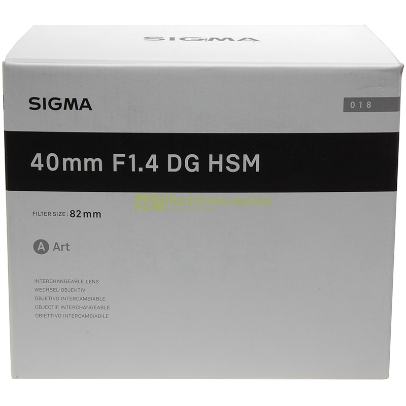 Sigma AF 40mm f1,4 DG HSM