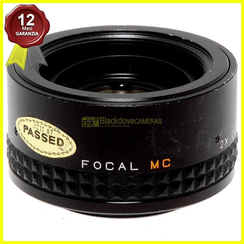 Moltiplicatore di focale Focal MC Tele Converter 2x per fotocamere a vite M42