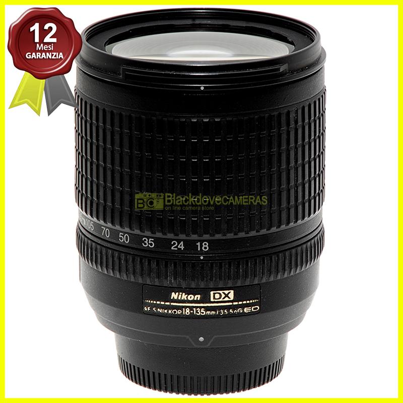 Nikon AF-S 18-135mm f/3.5-5.6 G DX obiettivo zoom per fotocamere digitali usato