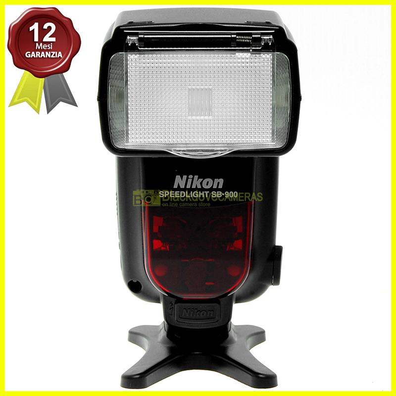 Nikon flash Speedlight SB-900 i-TTL