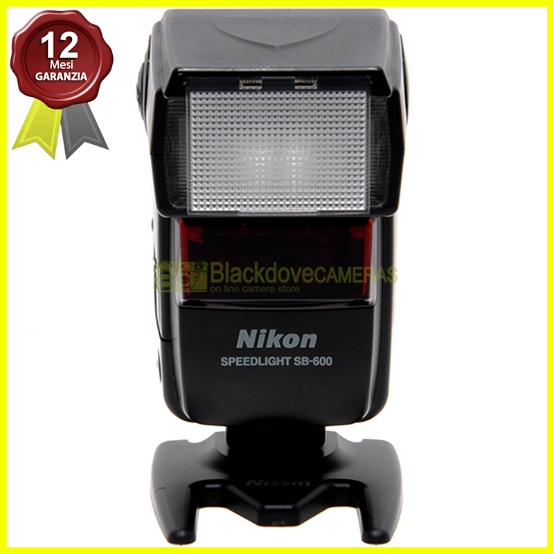 Nikon flash Speedlight SB-600 i-TTL