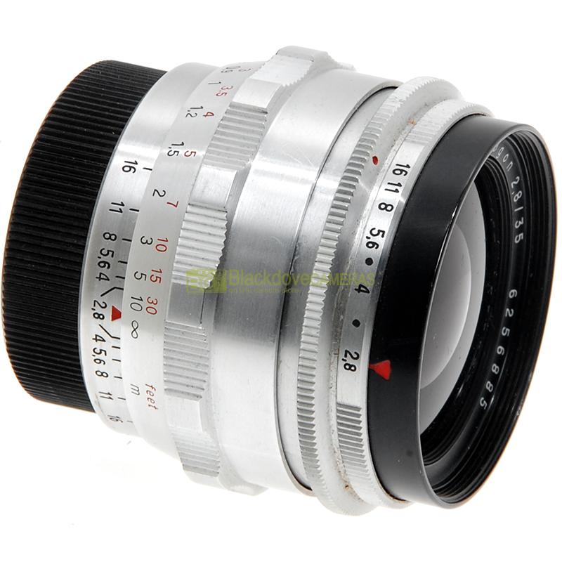 Obiettivo Schneider Kreutznach Curtagon 28mm f4 per fotocamere innesto vite M42