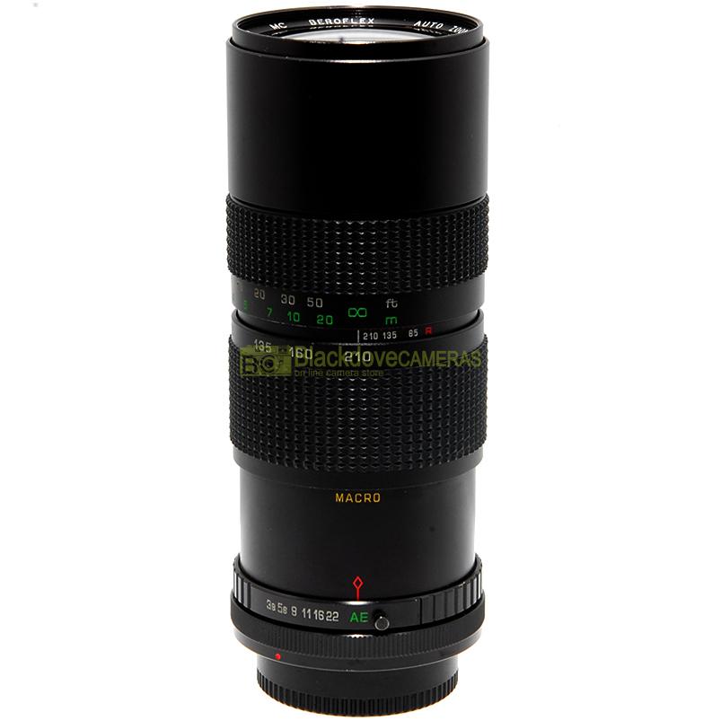 Beroflex 85/210mm f3,8 MC Zoom Macro