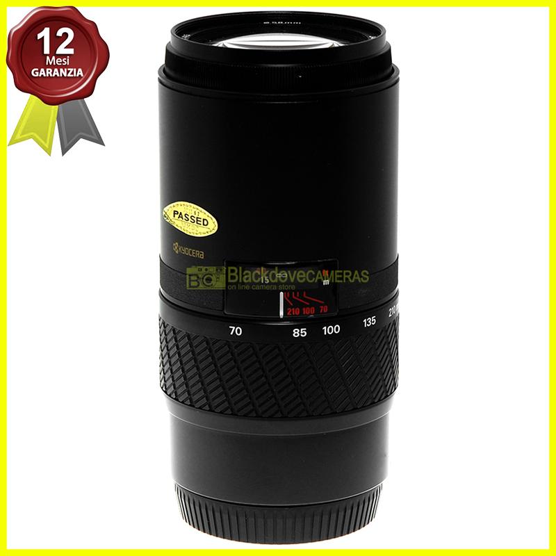 Yashica AF 70/210mm f4,5 Macro obiettivo per fotocamere reflex AF a pellicola