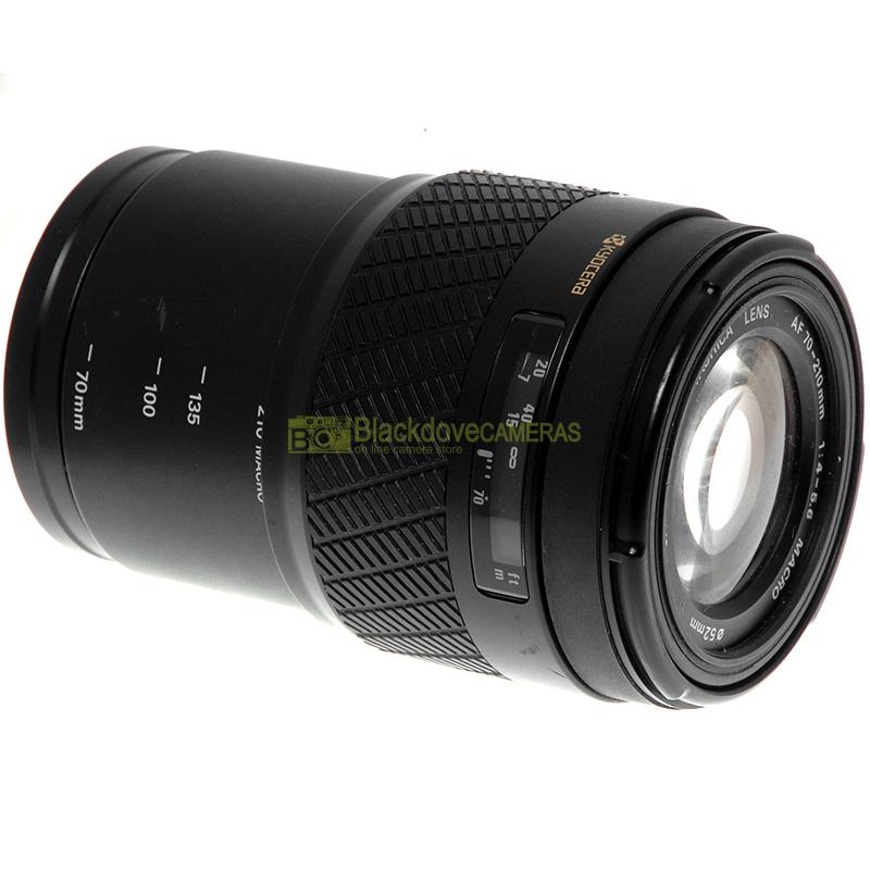 Yashica AF 70/210mm f4-5,6 Macro obiettivo per fotocamere reflex AF a pellicola