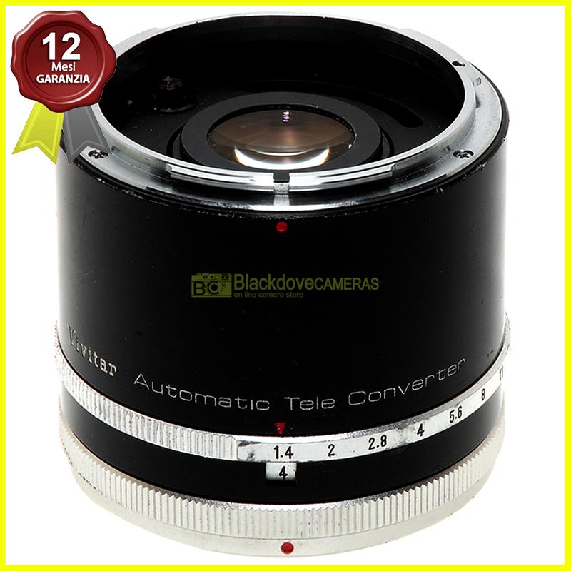 Moltiplicatore di focale 3x Vivitar per fotocamere analogiche Canon manual focusr