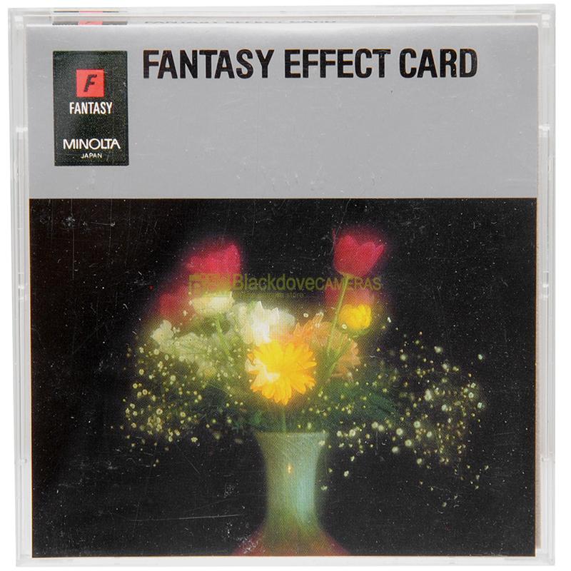 Scheda di programma FANTASY EFFECT CARD per fotocamere analogiche Minolta Dynax-Maxxum