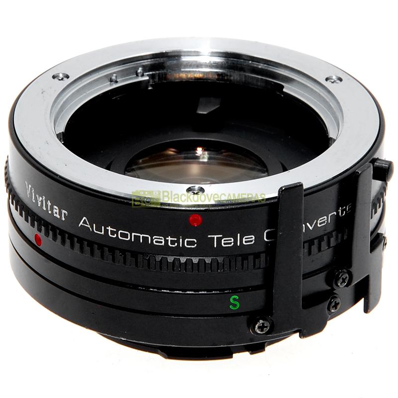 Moltiplicatore di focale Vivitar Teleconverter 2x per obiettivi Minolta MD e MC