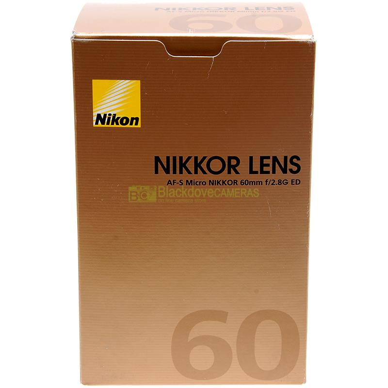 Nikon AF-S Micro Nikkor 60mm f2,8 G ED