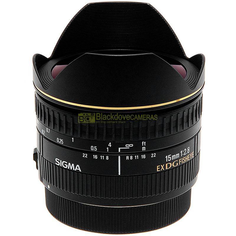 Sigma AF 15mm. f2,8 Fisheye EX DG