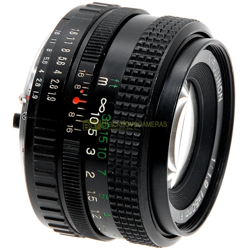 Fujifilm X-Fujinon 50mm f1,9 FM