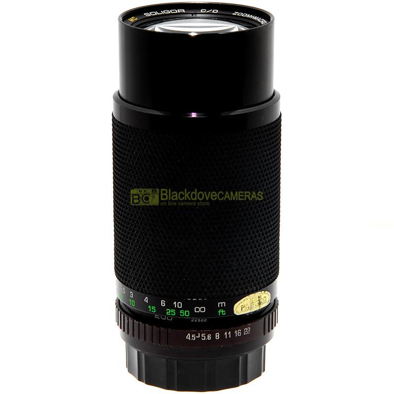 Soligor 80/200mm f4,5 Macro obiettivo per fotocamere Rollei Rolleiflex 35mm