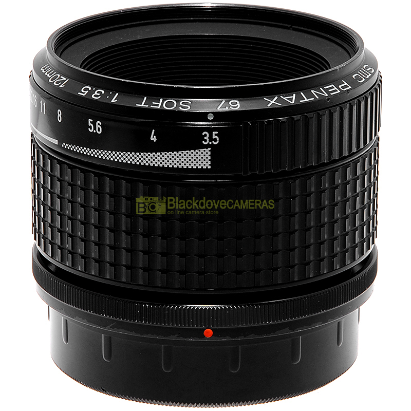 Pentax SMC 67 120mm f3,5 Soft