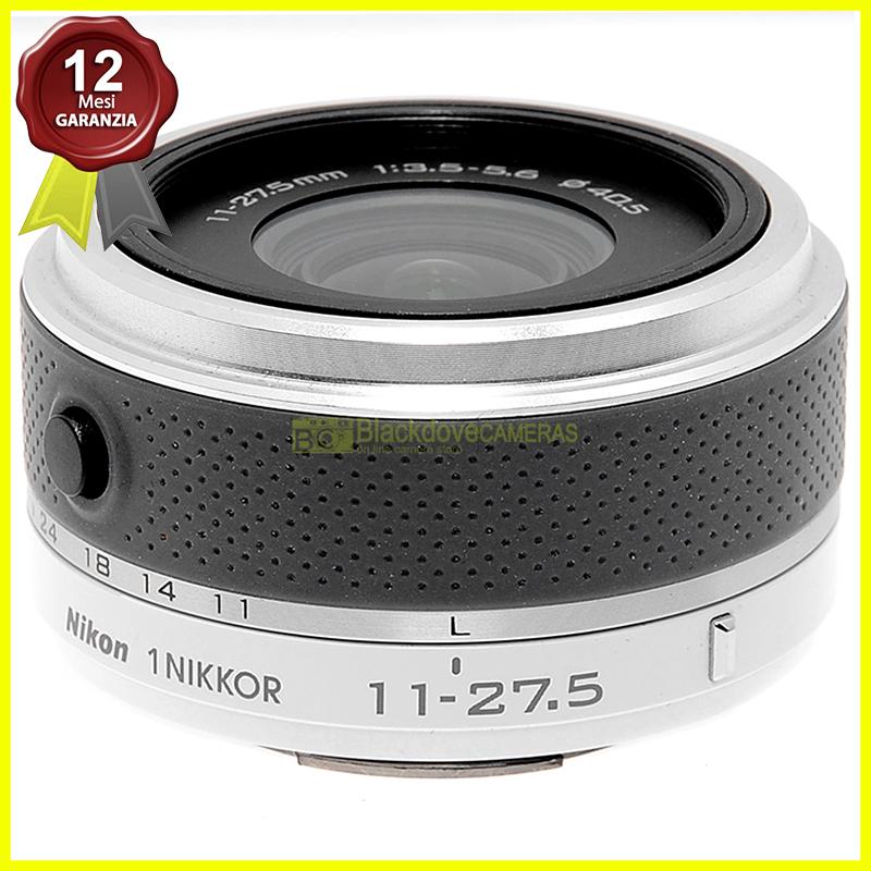 Obiettivo Nikkor 11/27,5mm f3,5-5,6 per fotocamere digitali mirrorless Nikon 1