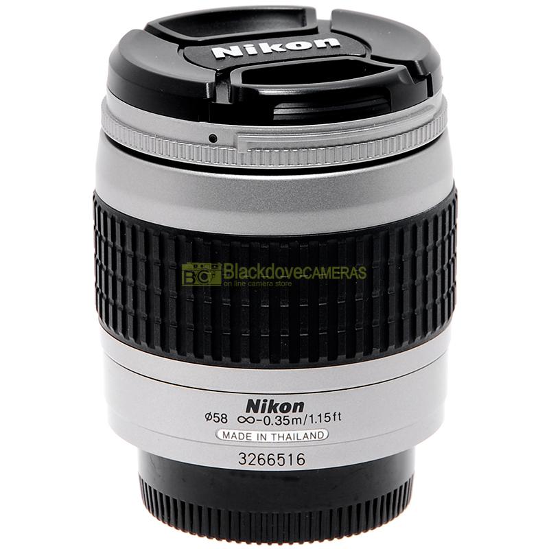 Nikon AF Nikkor 28-80mm f3,3-5,6 G Silver
