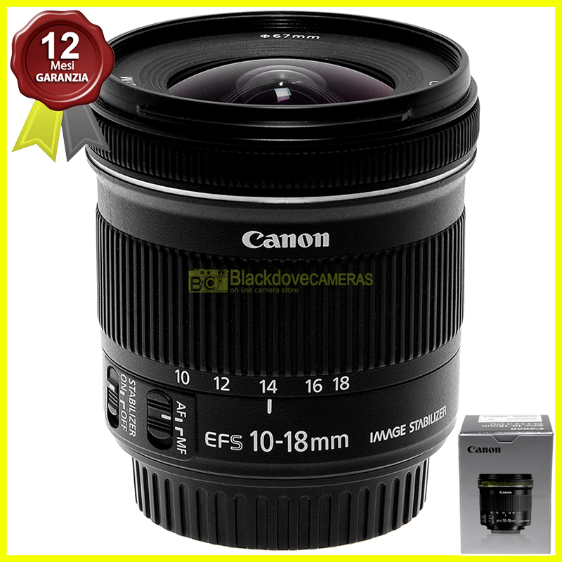 Canon EF-S 10-18mm f4,5-5,6 IS STM