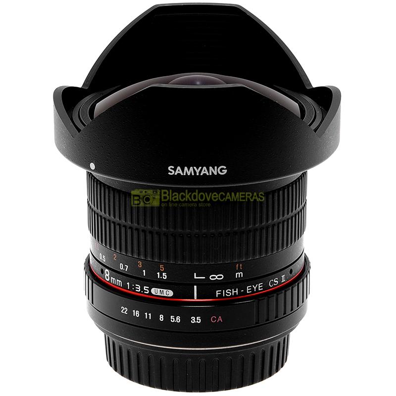 Samyang 8mm. f3,5 UMC Fish Eye CS II
