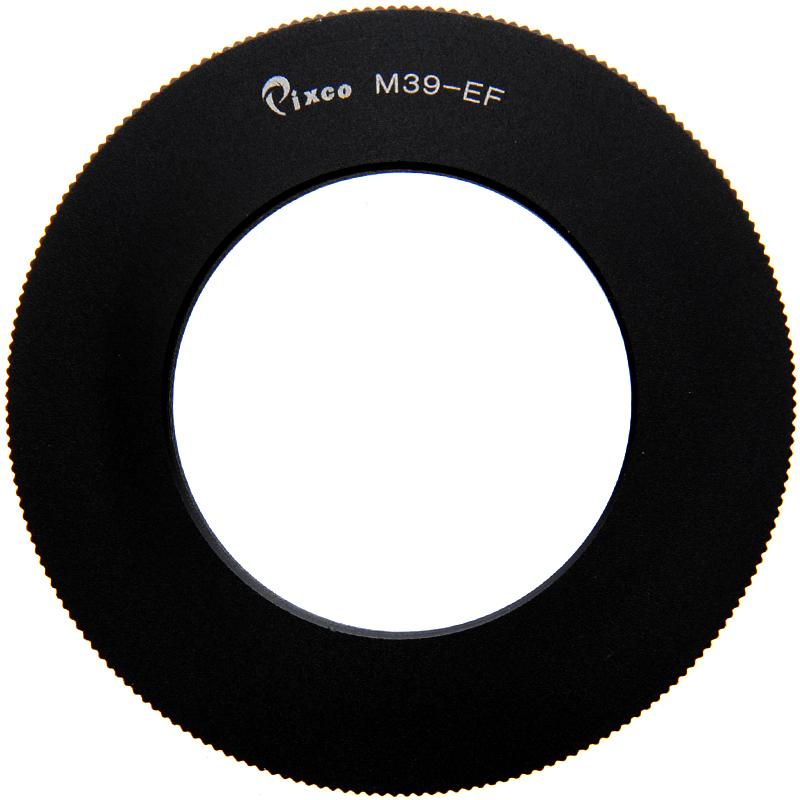 Adapter per obiettivi a Vite Leica M39 su fotocamere Canon EOS Anello Adattatore