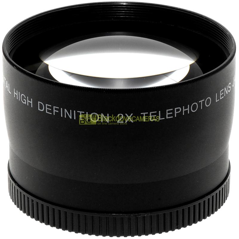 Digital Concepts Aggiuntivo Tele photo 2x per obiettivi con diametro filtri 58mm