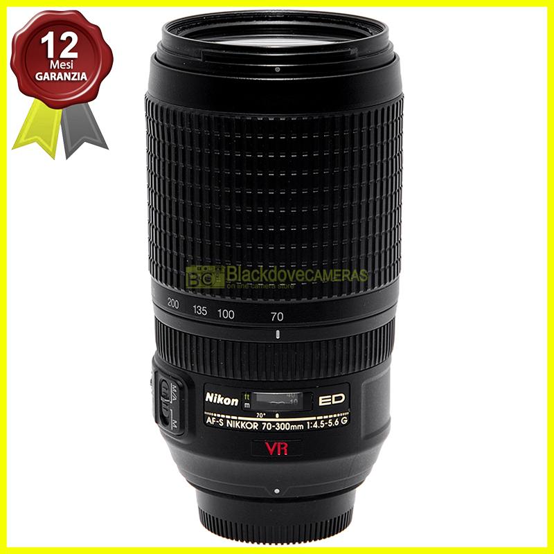 Nikon AF-S Nikkor 70/300mm f4,5-5,6 G ED VR