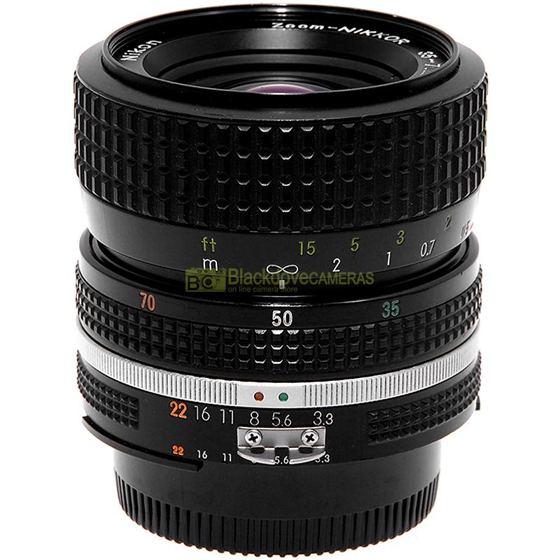 Nikon AI-S Nikkor 35/70mm f3,3-4,5