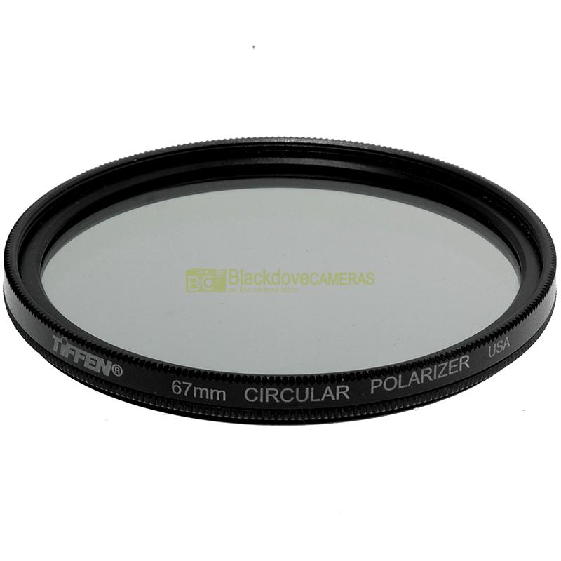 67mm Filtro polarizzatore Tiffen per obiettivi con vite M67 Polarizing filter