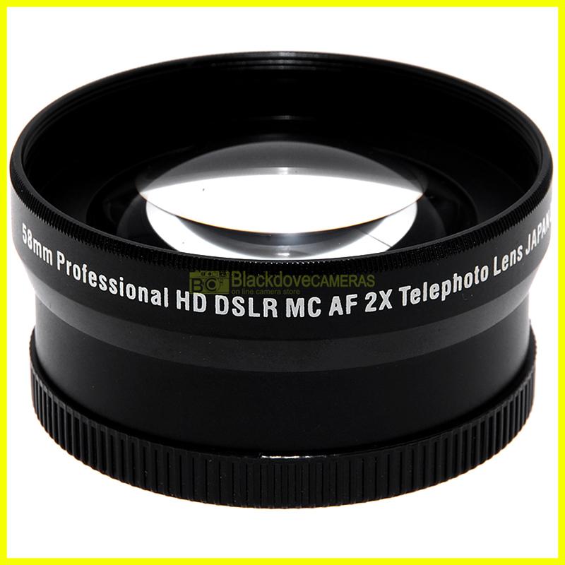 Xit Pro Aggiuntivo HD Tele photo 2,2x per obiettivi con diametro filtri 58mm