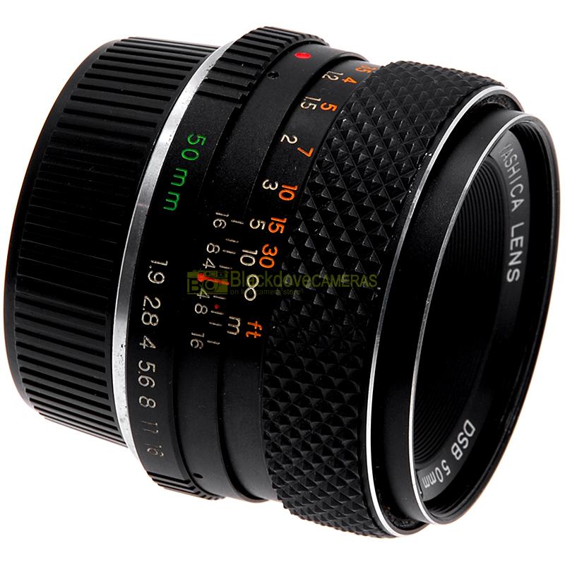 Obiettivo Yashica DSB 50mm f1,9 per fotocamere reflex analogiche Contax/Yashica