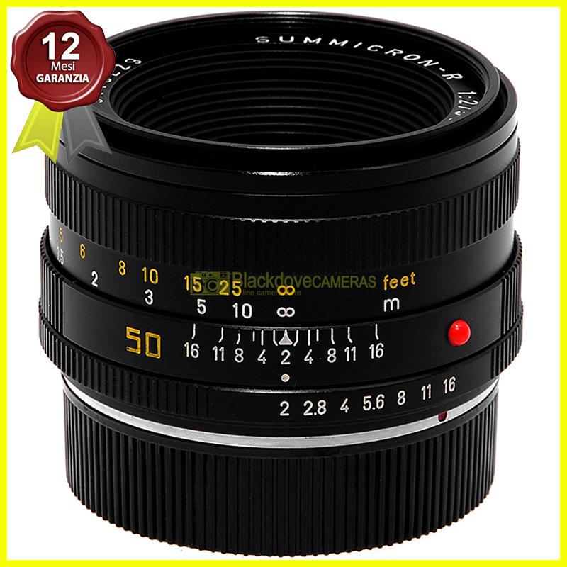 Leica Summicron R 50mm f2 Obiettivo per fotocamere reflex a pellicola R 3 CAM