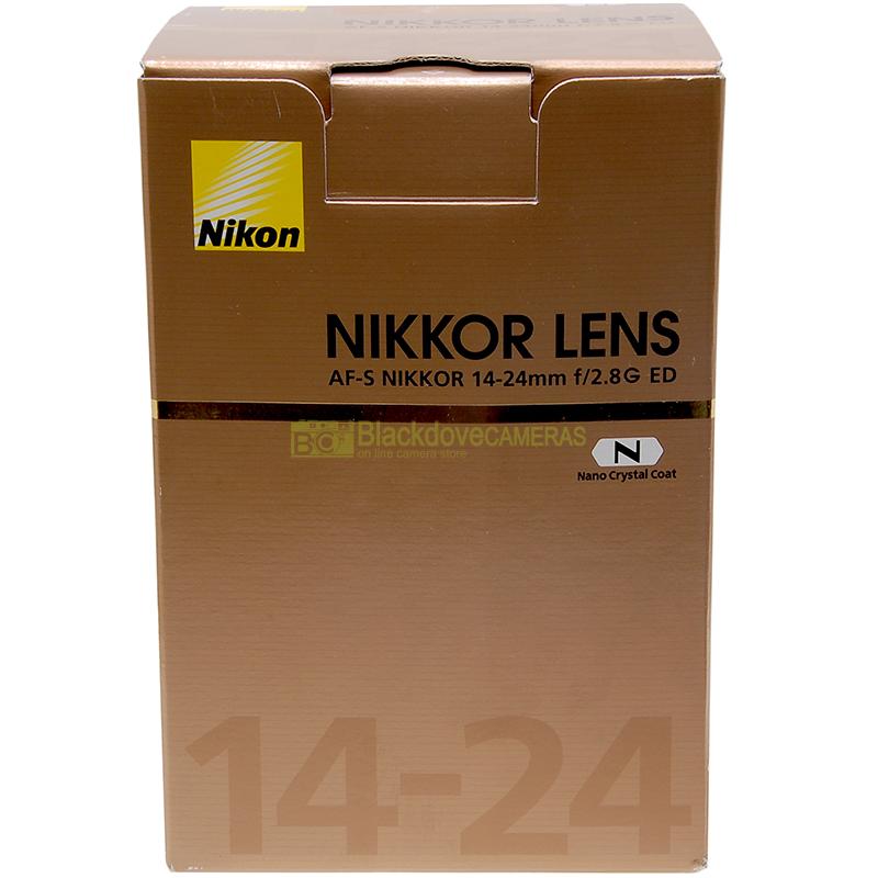 Nikon AF-S Nikkor 14/24mm f2,8 G ED N